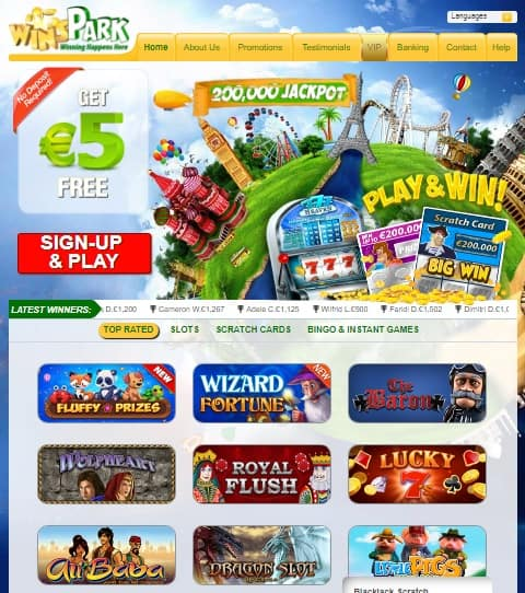 WinsPark Casino Review
