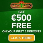Casino Classic 100 free spins   325% up to $/€500 free bonus