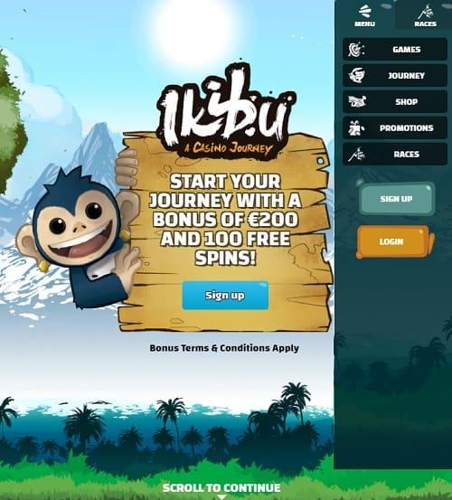 Ikibu Casino Free Spins Bonus