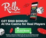 Rolla Casino - new casino with 500 gratis spins and 500€ free bonus