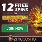 Emu Casino 12 free spins no deposit bonus - New Zealand & Australia
