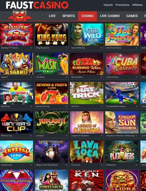 FaustCasino.com review
