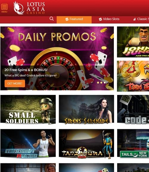 Lotus Asia Casino Review