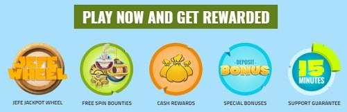 Casino Jefe welcome bonus