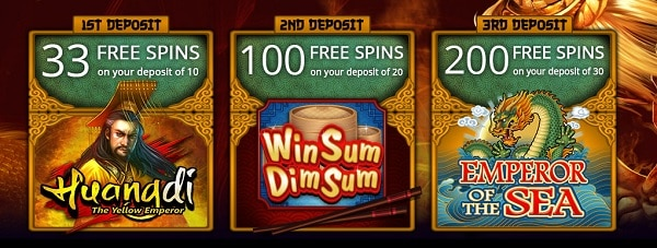 JackpotCity Casino free spins bonus and welcome offer