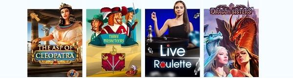 LibraBet Casino games, live dealer, free play