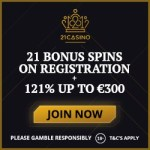 How to get a 21 free spins no deposit bonus to 21 Casino?