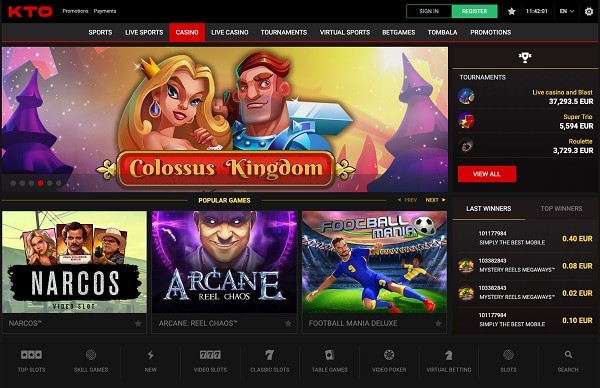 KTO Casino Online Review