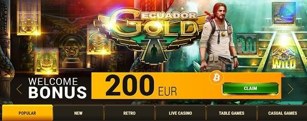 Argo Online Casino Exclusive Welcome Bonus