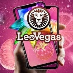 Leo Vegas Casino 150 cash free spins + 1600€ deposit bonus