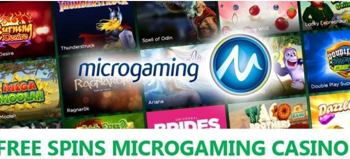 MicrogamingCasino Free Spins Bonuses