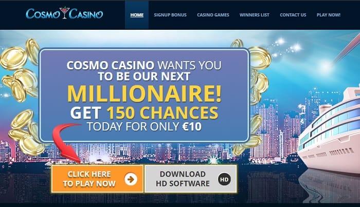 Cosmo Casino Log In