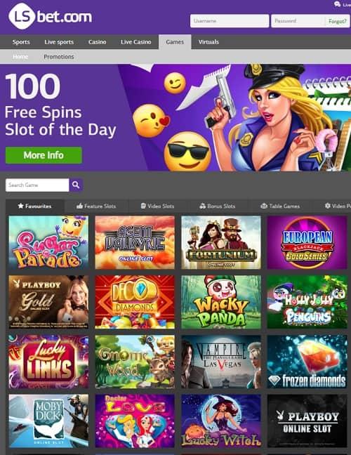 LSbet.com Casino Review: €7 GRATIS + 100% up to €300 free bonus
