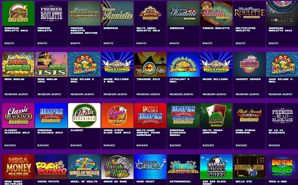Bingo on the Box Casino Games
