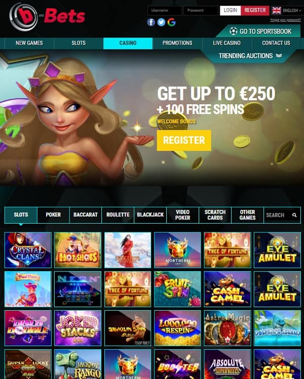 b-Bets Casino and Sports - review