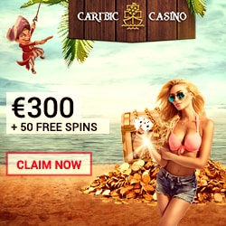 Caribic Casino banner 250x250 free bonus