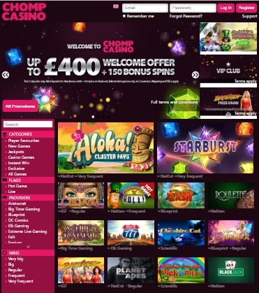 Chomp Casino Review