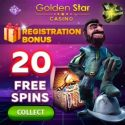 Golden Star Casino | 70 free spins and 225% up to €600 bonus | review