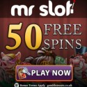 Mr Slot Casino | 50 free spins and 100% up to €200 bonus | review