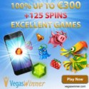 Vegas Winner Casino | 125 free spins and 200% bonus | review