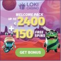 Loki Casino | 150 free spins and €2400 bonus or 5 bitcoins | review
