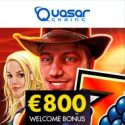 Quasar Gaming Casino 150% up to €800 bonus and free chips codes