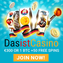 Das Ist Casino – 50 free spins and 150% bonus up to €350 or 1 bitcoin