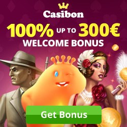 Casibon.com - 100% up to €300 free credits plus Gratis Spins!
