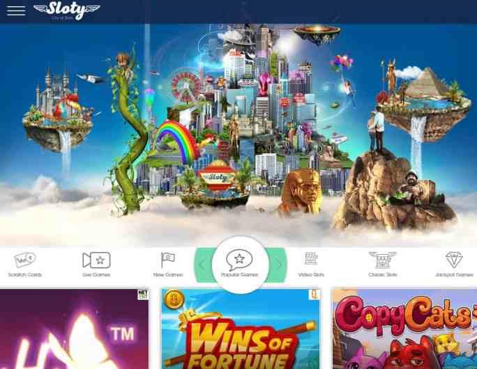 Sloty.com Casino Review