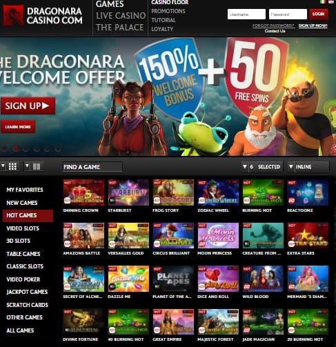 Dragonara Online Casino Review