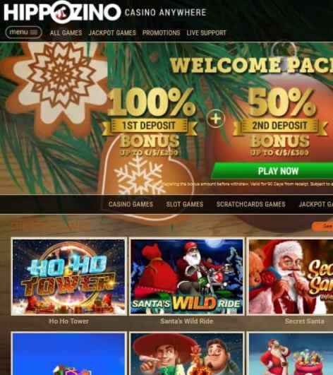 Hippozino Casino Review