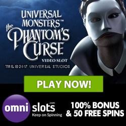 Omni Slots Casino 70 gratis spins + 150% free bonus (up to €/$500)