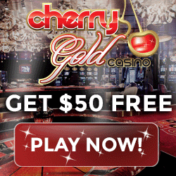 Cherry Gold Casino $50 no deposit & 200% free bonus - USA welcome!