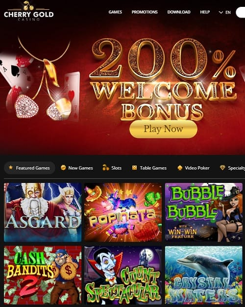Cherry Gold Online Casino Review