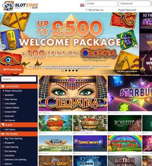 SlotStars Casino Review