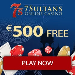 7Sultans Casino 200% up to $/€500 free bonus and 50 free spins