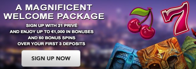 21Prive.com Casino Free Spins