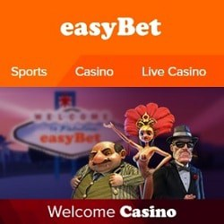 EasyBet Casino €700 welcome bonus & free spins on deposit