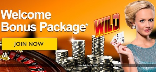 GdayCasino welcome bonus