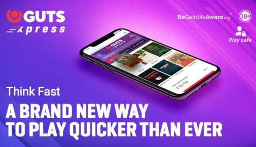 Guts Xpress Casino Pay N Play - no registration and no account needed