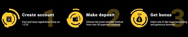 Zet Casino deposit and cashout