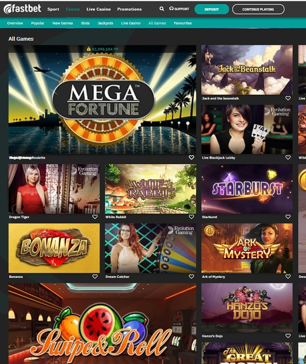 Fastbet Casino Review