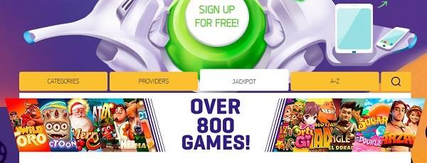 LuckMe Casino games