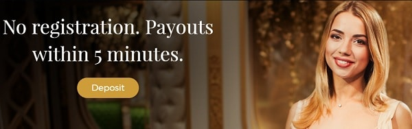 Premier Live Casino - no account, no registration, fast payouts
