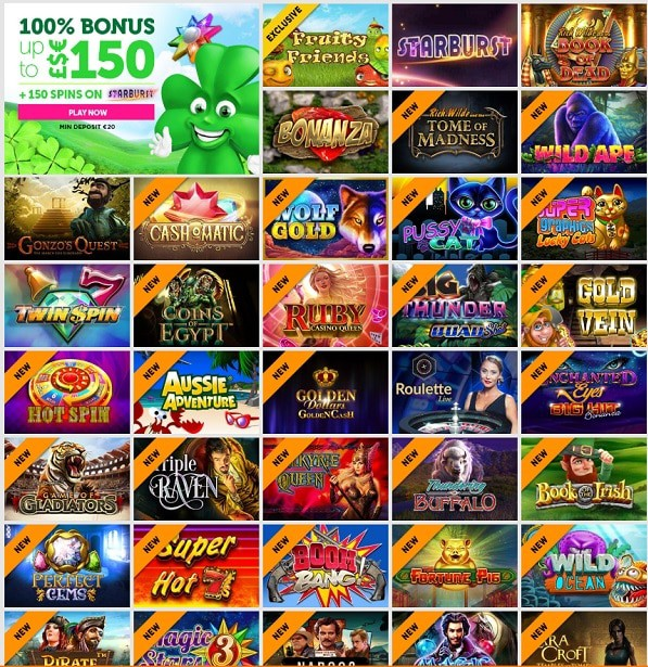 Casino Luck free play games