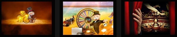 Slots, Live Dealer, Sportsbook