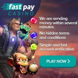 Fastpay Casino 100 free spins and 100% welcome bonus