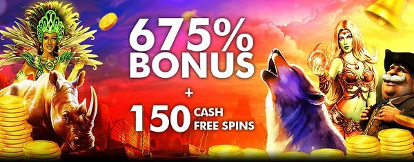 Tangiers Casino 675% welcome bonus