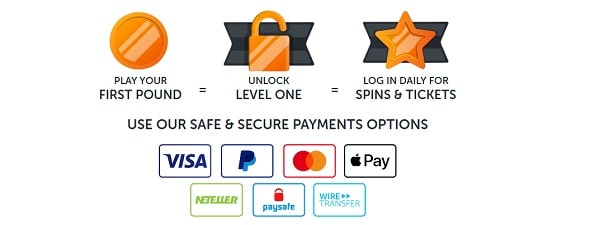 Safe and Secure Payments at Bounce Bingo UK