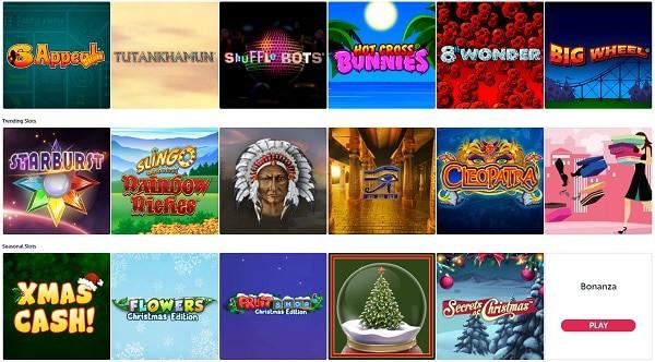 Online Slots At Bounce Bingo Casino